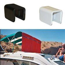"Terricraft Creations BC-15 Boat Bimini Clip 1"" Square 5 Pack Black"