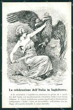 WW1 WWI Propaganda Red Cross Anti Austria cartolina postcard XF7940