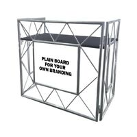 Equinox Truss Booth System DJ Table Aluminium Professional Mobile Foldable