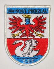 "NVA Volksmarine Aufnäher Patch UAW-Schiff ""Prenzlau"" 231 - Projekt 133 ....A5359"