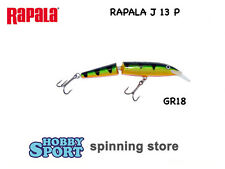 RAPALA JOINTED  J-13 P PERCH  FLOATING MODELLO ORIGINALE