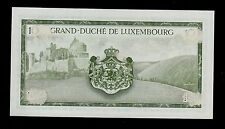 LUXEMBOURG  10  FRANCS  ( 1954 )  PICK # 48 XF.