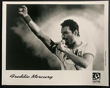 1990 Freddie Mercury Type 1 Photo Last Image On Stage Hollywood Records Queen
