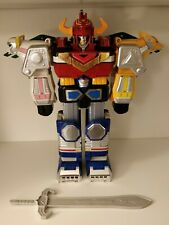 Complete Power Rangers LOST GALAXY Deluxe Megazord with sword fist horn bandai