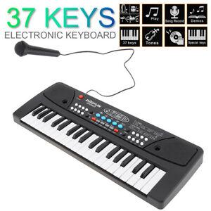 Kids 37 Key Electronic Keyboard  Piano Digital Music Key Board with Microphone