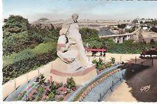 CPSM SAINT BRIEUC MONUMENT ANATOLE LE BRAZ OEUVRE DU SCULPTEUR BEAUFILS PARIS