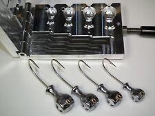Saltwater Asprinhead Jig mold 2,3,4,5oz 3407 CNC Aluminum
