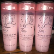 Lancome Face Toner Lot Tonique Confort Rehydrating Comforting Toner 3 X 50ml New