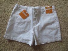 Girl GYMBOREE SOLID WHITE MIDI shorts NWT 8