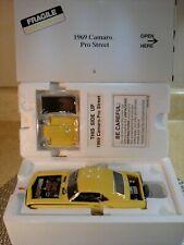 Danbury Mint 1969 Camaro Pro Street.1:24.Super Rare.Nib.Undisplayed.Pris tine