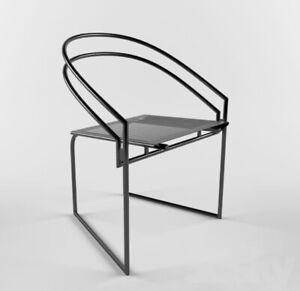 Mario Botta para alias Latonda Chair, post moderno diseño silla 1982