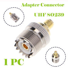1Pcs/Set PL259 SMA Male Socket to UNF Socket Adaptor / Connector for Radio GSM