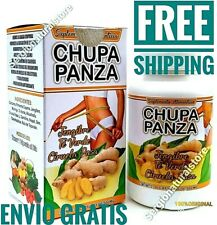 CHUPA PANZA JENGIBRE+TE VERDE+CURCUMA FAT BURNER Ginger WEIGHT LOSS Exp 12/2024