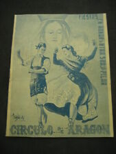 Parties of The Pillar IN Argentina. Circle Of Aragon, Buenos Aires 1945. Advert
