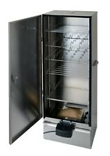 XL Electric Food Smoker cabinet 1,1m  Embossed Stainless Steel by outdoorcook UK