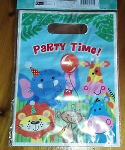 PARTY TIME! 8 LOOT BAGS