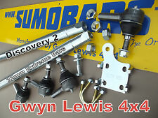 Discovery 2 TD5 Steering Bars Extreme Heavy Duty Drag Link Track Rod full Kit
