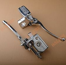 Chrome Brake Master Cylinder Clutch Levers for Suzuki Intruder 800 1400 1500