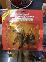 MOC 1982 tsr SARKEN MERCENARIES Advanced Dungeons & Dragons PVC figure set LJN !