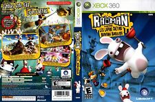 RAYMAN RAVING RABBIDS ( JEUX XBOX 360 ) COMPLET - CIB