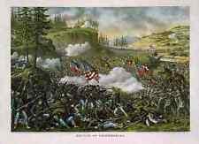Battleof Chickamauga vintage Photo Print A4