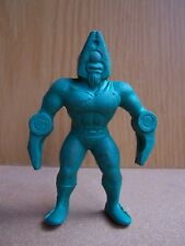"M.U.S.C.L.E figure Muscle Men MUSCLEMAN KINNIKUMAN Green 4"" Rubber SUPER RARE!"