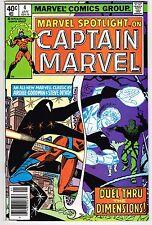 MARVEL SPOTLIGHT ON CAPTAIN MARVEL #4 MARVEL COMICS BRONZE AGE 1979 NM VIBRANT