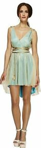 Fever Grecian Queen Ladies Greek Style Fancy Dress Costume Novelty Dress
