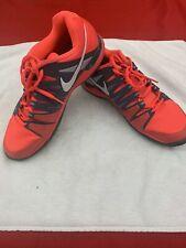 Nike Men's Zoom Vapor 9.5 Tour Size 9.5 Tennis Orange  Roger Federer