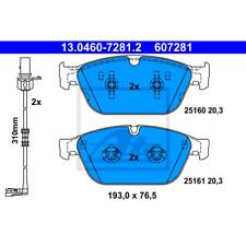 Bremsbelagsatz Scheibenbremse - ATE 13.0460-7281.2