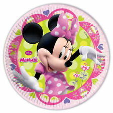 Paper Minnie Mouse Party Plates