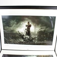 NEW Dishonored CROSSBONE Lithograph OOP Numbered #235/300