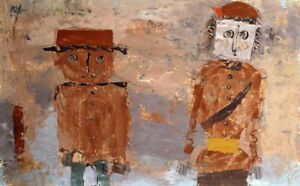 PAUL KLEE Bride and Groom in Autumn of Life MARRIAGE longevity NEW ON CANVAS!!