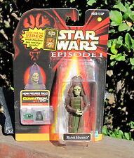 1998 Hasbro Star Wars Episode 1 Action Figure Rune Haako W/Comm Tech Chip MOC