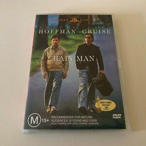 Rain Man (Dustin Hoffman & Tom Cruise) DVD Region 4 VGC FREE POSTAGE