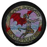 Black Sabbath World Tour 78 Official Patch Heavy Metal New