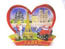 Paris Magnet Reise Souvenir France,Eiffelturm,Notre Dame,Sacre Coeur 2CV