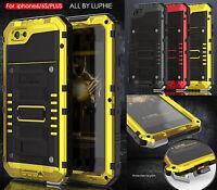 étanche anti-chocs Métal Verre Gorilla Housses Coques Case Pour iPhone 6 6S Plus