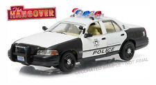 GREENLIGHT 1/43 THE HANGOVER 2000 FORD CROWN VICTORIA POLICE INTERCEPTOR 86506