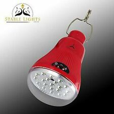 Stable Lights, solar charging bright REMOTE CONTROL LED lights, no mains needed