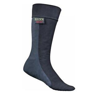 Rocky® Gore-Tex® Waterproof Oversocks, Black