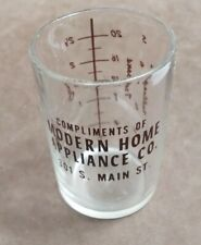 Old Modern Home Appliance Co Chambersburg PA advertising measuring glass