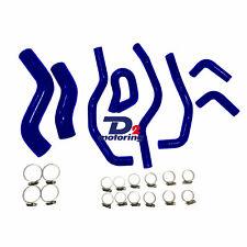 Silicone Radiator Hose Kit For TOYOTA Hilux KUN26R SR & SR5 3.0L 2005-2014 Blue