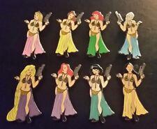 Fantasy Pin -Slave Girl Leai Costume -Star Wars- Disney Princess Complete Set 8