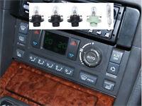 Range Rover P38 Heater Air Conditioning HEVAC Control Light Repair Kit Bulbs-#39