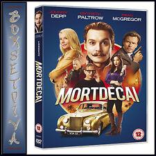 MORTDECAI - Johnny Depp  **BRAND NEW DVD**