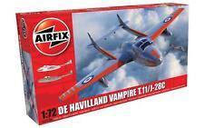 AIRFIX 1/72 PLASTIC MODEL KIT DE HAVILLAND VAMPIRE T.11/J-28C AI02058A