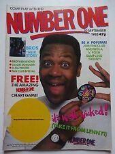 NUMBER ONE UK MUSIC MAGAZINE 10/9/88 - BROS - A-HA - JASON DONOVAN - JELLYBEAN