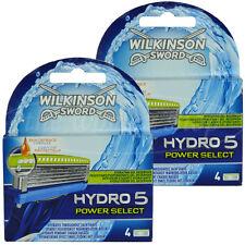 8 Wilkinson Hydro 5 Power Select Rasierklingen Neu Original Verpackt