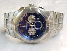 Jacques Lemans All Stainless Steel Quartz Chronograph Men's Wristwatch~ 12-G2523
